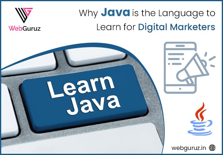 java for digital marketing